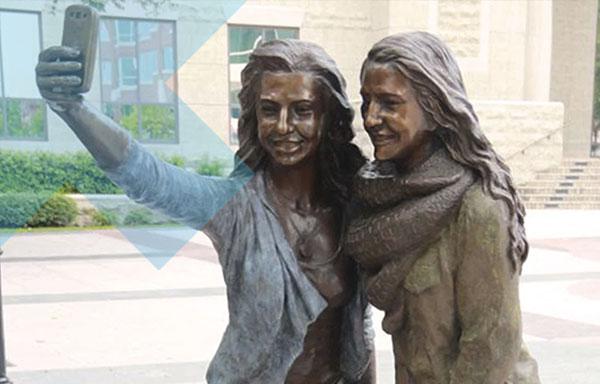 Get a bronze statue made